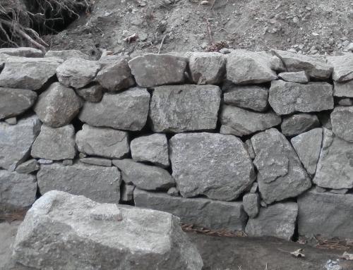 Muro sin cemento